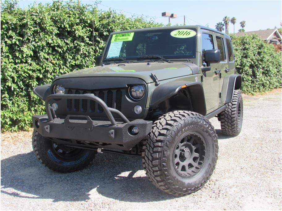 2016 Jeep Wrangler Tank Green SOLD!!!