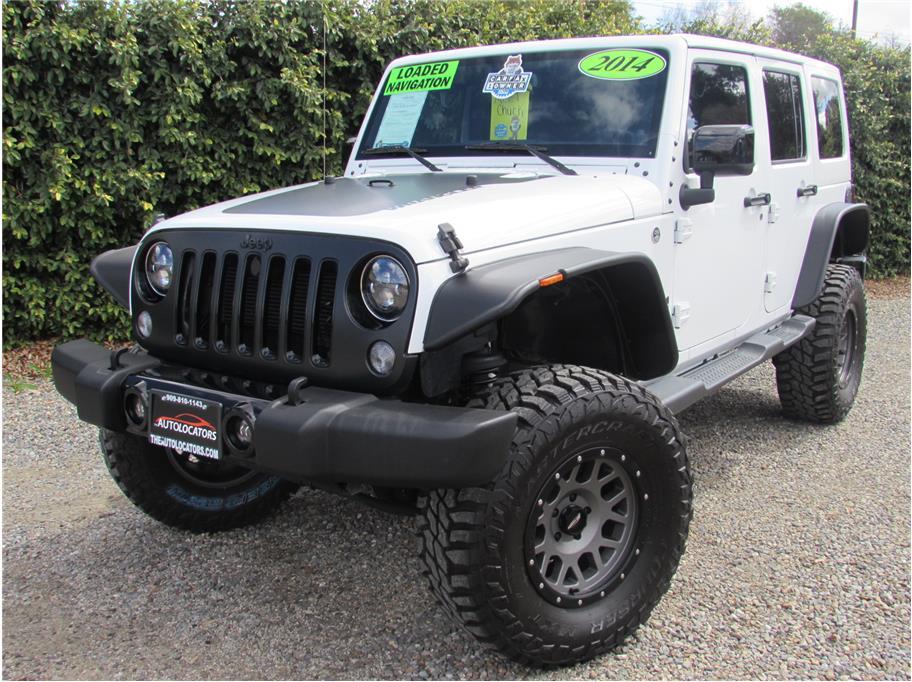 2014 Jeep Wrangler Unlimited Altitude Sport Utility 4D