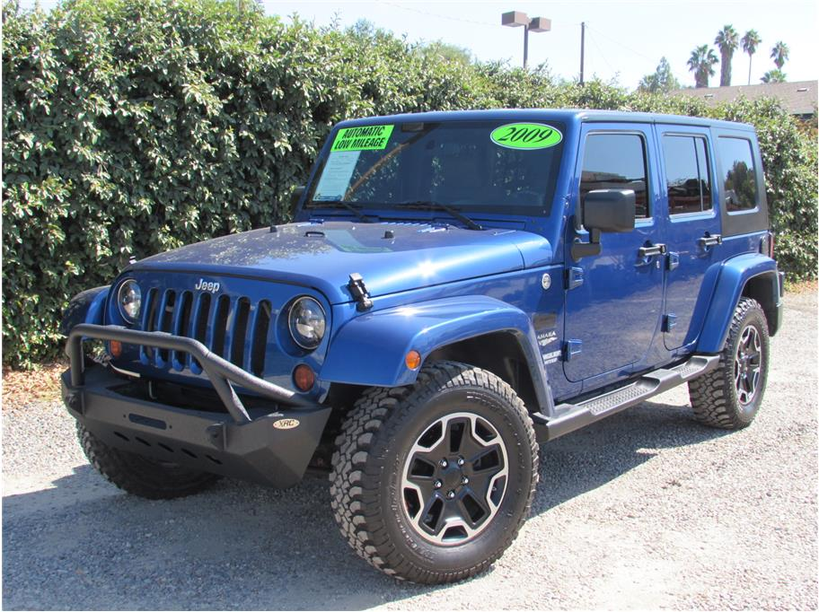 2009 Jeep Wrangler Unlimited Sahara Sport Utility 4D SOLD!!!