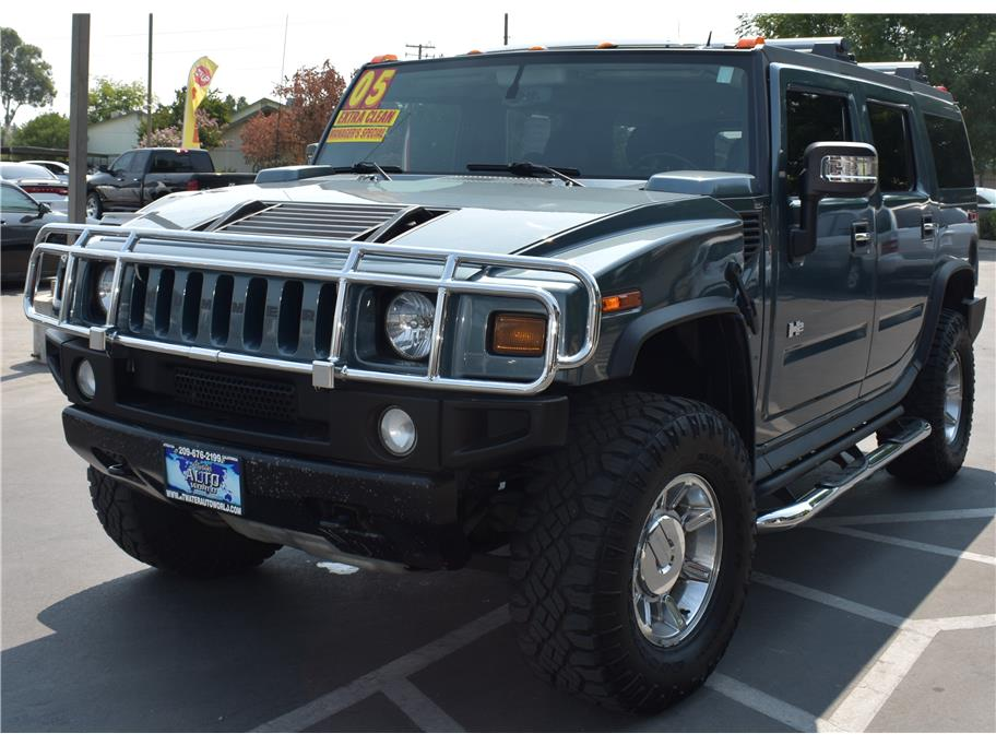 used hummer h2 for sale in modesto ca 9 cars from 15 977. Black Bedroom Furniture Sets. Home Design Ideas