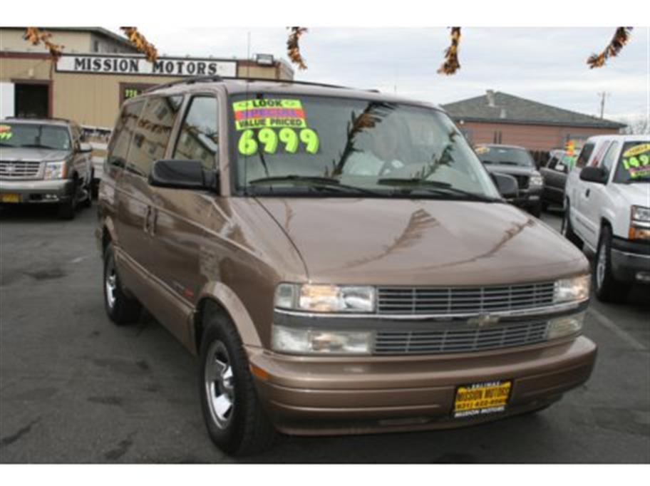 2002 Chevrolet Astro Minivan