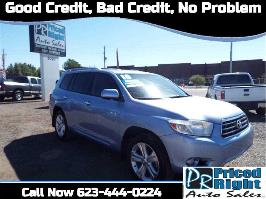 2010 Toyota Highlander Limited For Sale In Phoenix, AZ.