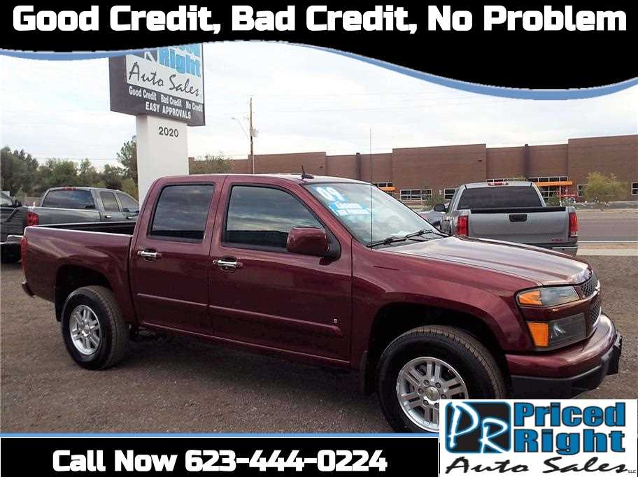 2009 chevrolet colorado 4x4 crew cab for sale in phoenix, az.