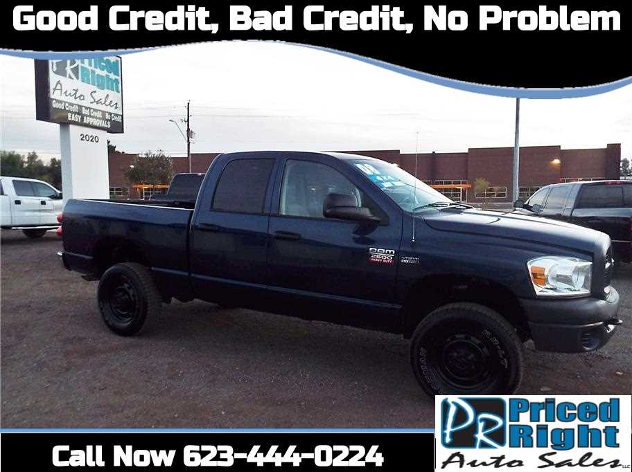 2008 Dodge Ram 2500 4x4 Crew Cab Truck For Sale In Phoenix