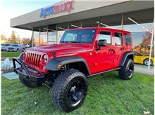 2014 Jeep Wrangler Unlimited Rubicon X Sport Utility 4D