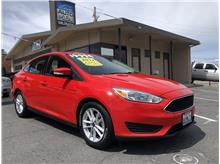 2017 Ford Focus SE Sedan 4D