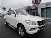 2012 Mercedes-benz M-Class ML 350 BlueTEC Sport Utility 4D