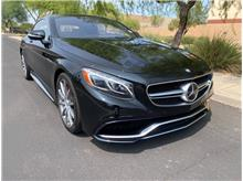 2016 Mercedes-benz S-Class S 63 AMG 4MATIC Coupe 2D