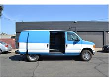 2006 Ford E350 Super Duty Cargo Commercial Extended Van 3D