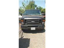 2008 Ford E350 Super Duty Cargo Commercial Extended Van 3D