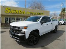 2019 Chevrolet Silverado 1500 Double Cab Work Truck Pickup 4D 6 1/2 ft