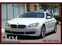 2013 BMW 6 Series 650i Gran Coupe xDrive Coupe 4D