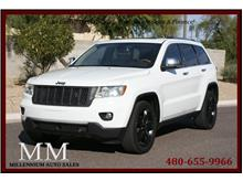 2013 Jeep Grand Cherokee Overland Sport Utility 4D