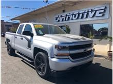 2016 Chevrolet Silverado 1500 Double Cab Custom Pickup 4D 6 1/2 ft