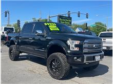 2015 Ford F150 SuperCrew Cab Platinum Pickup 4D 5 1/2 ft