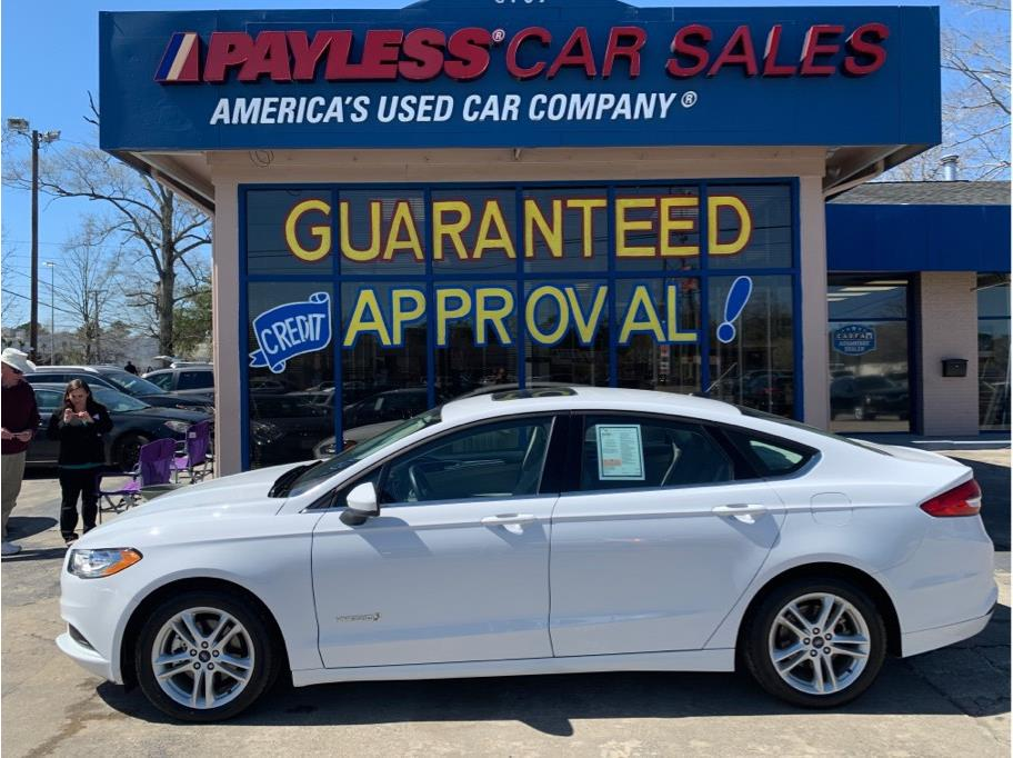 2018 Ford Fusion from Payless Car Sales