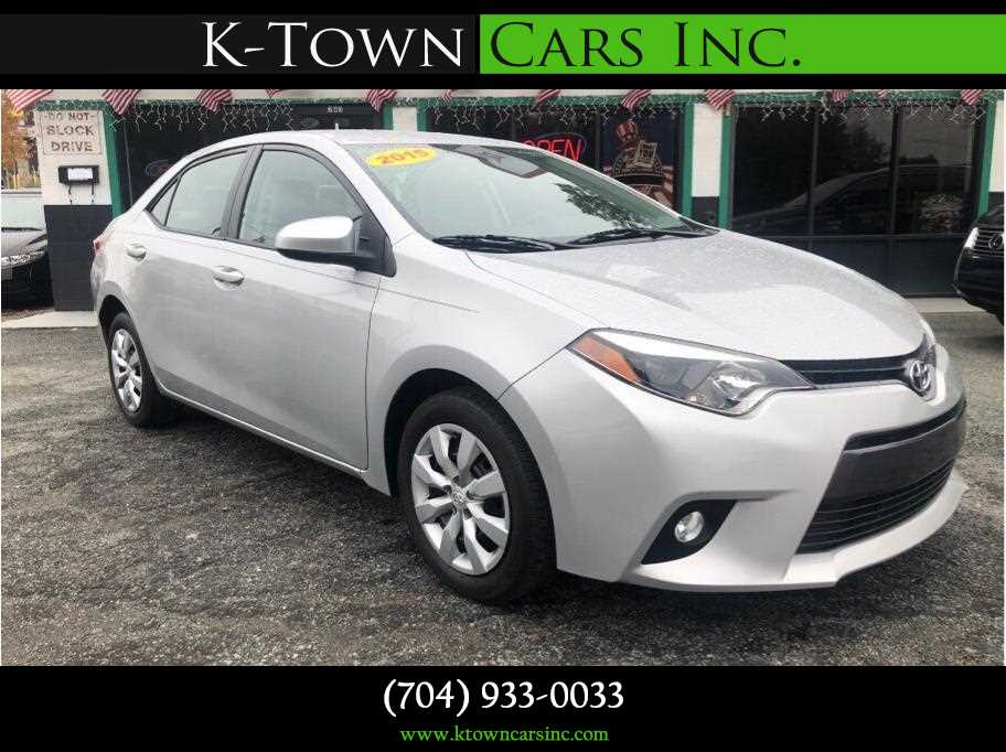 2015 Toyota Corolla from K-Town Cars