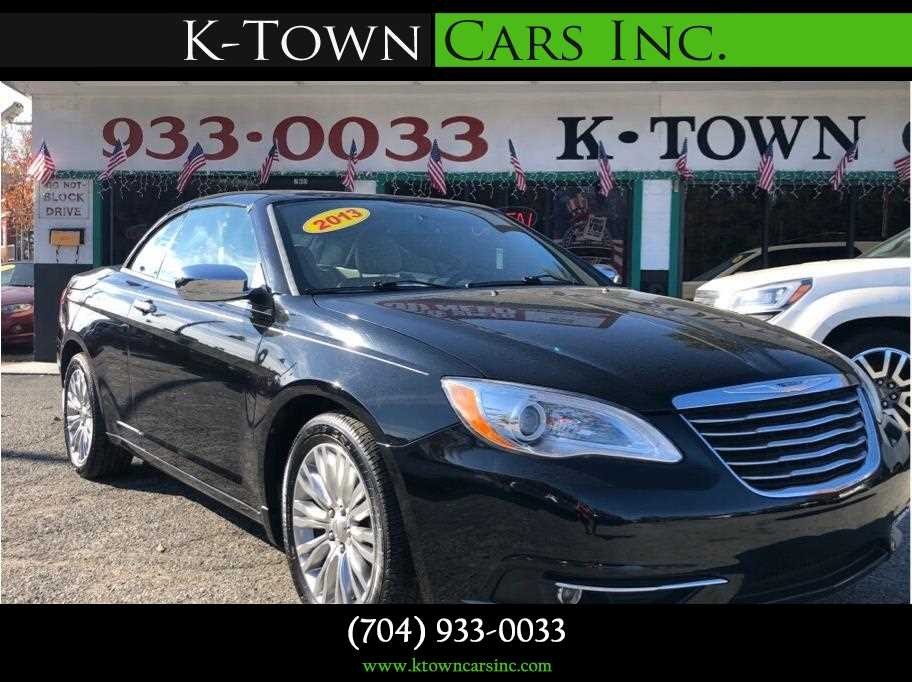2013 Chrysler 200 from K-Town Cars