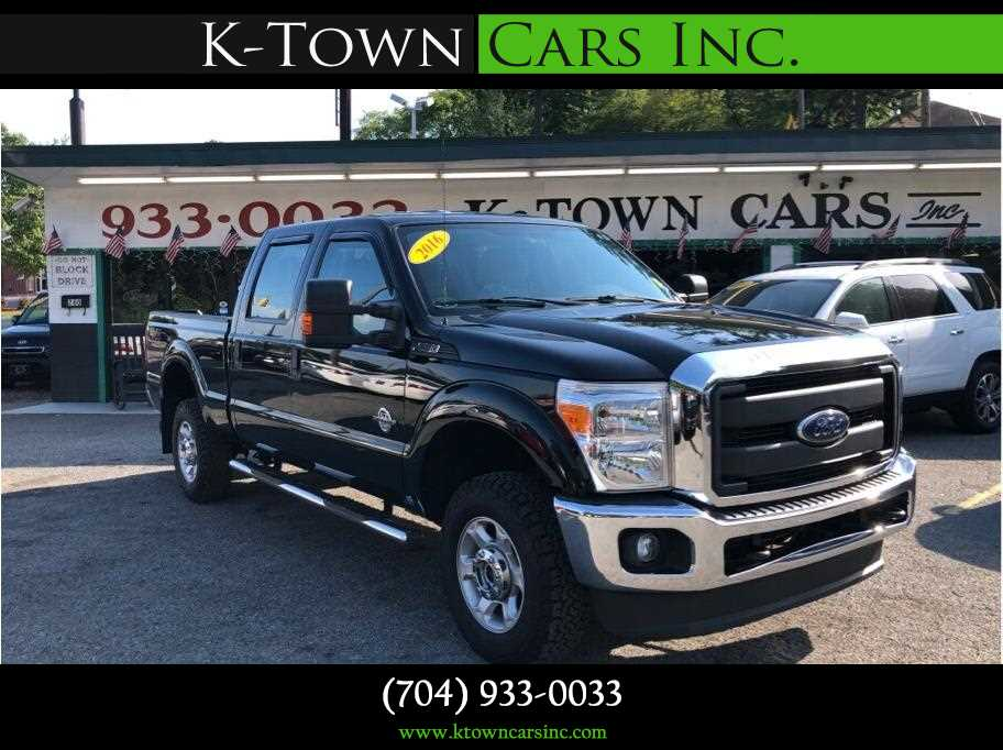 2016 Ford F250 Super Duty Crew Cab from K-Town Cars