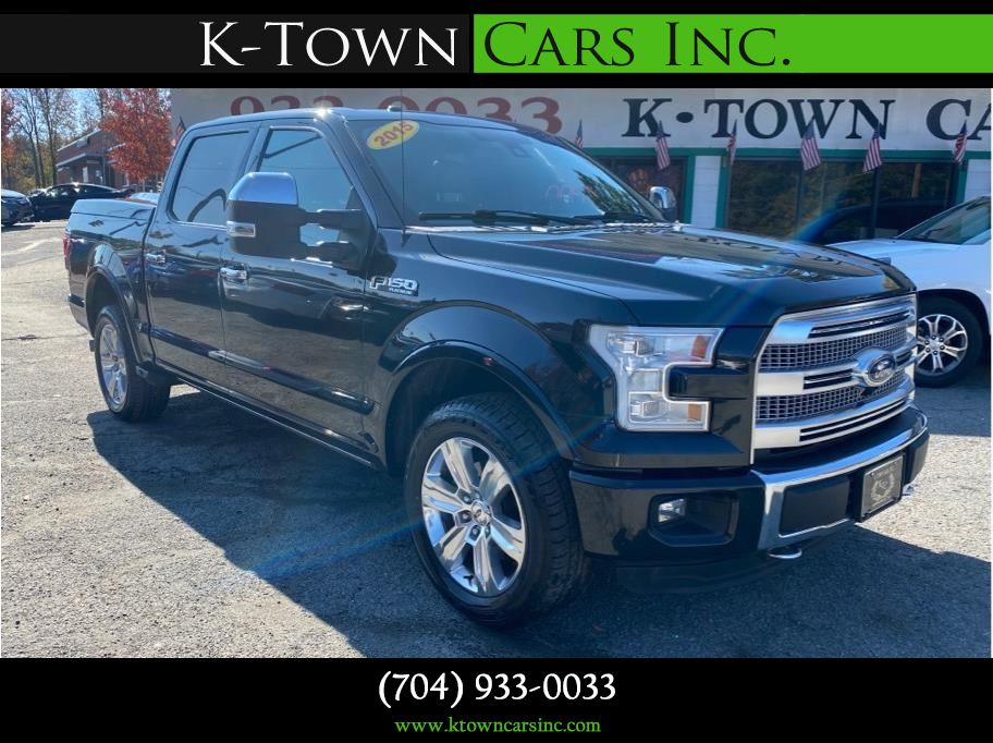 2015 Ford F150 SuperCrew Cab from K-Town Cars