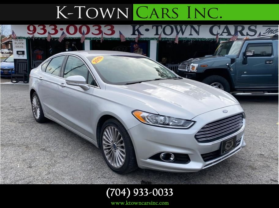 2016 Ford Fusion from K-Town Cars