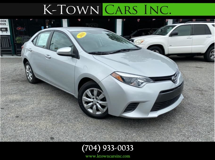 2016 Toyota Corolla from K-Town Cars