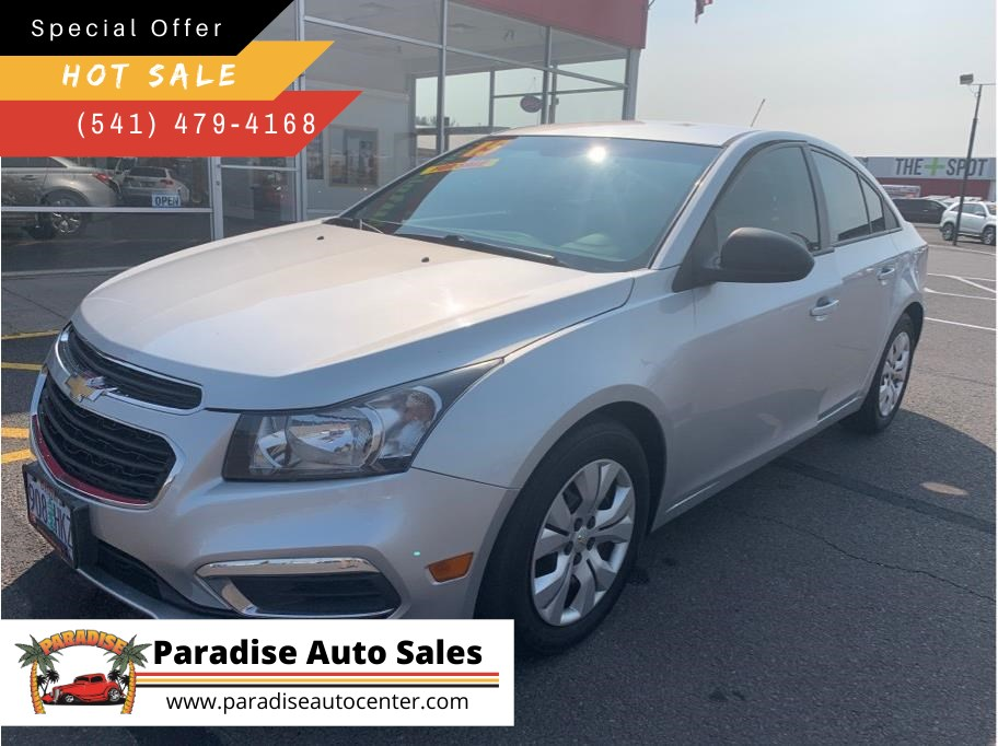2015 Chevrolet Cruze from Paradise Auto Sales - Grants Pass