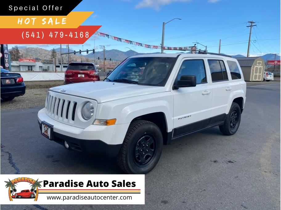 2017 Jeep Patriot from Paradise Auto Sales - Medford