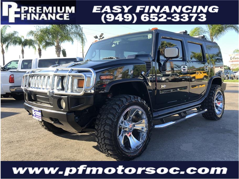 2005 Hummer H2 from Premium Finance