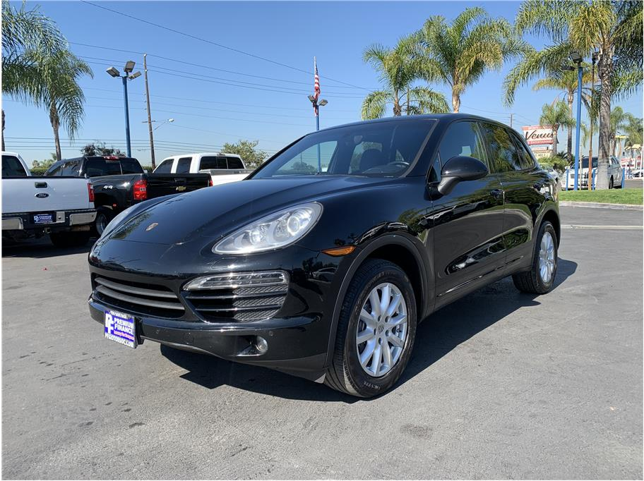 2012 Porsche Cayenne from Premium Finance
