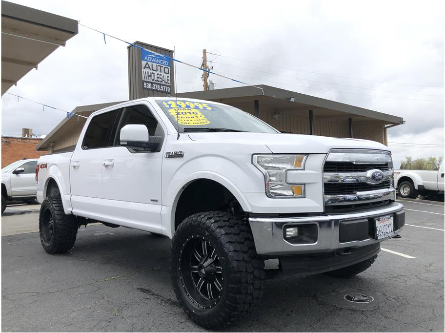 2016 Ford F150 SuperCrew Cab from Advanced Auto Wholesale