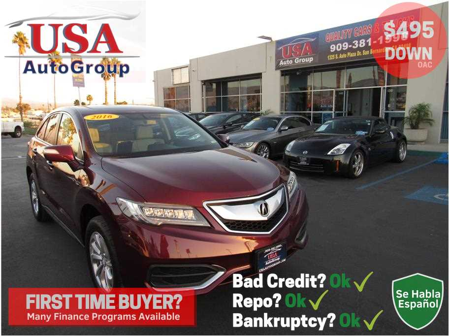2016 Acura RDX from USA Auto Group