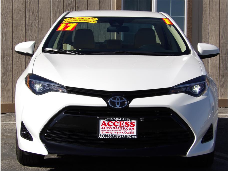 2017 Toyota Corolla from Access Auto Sales