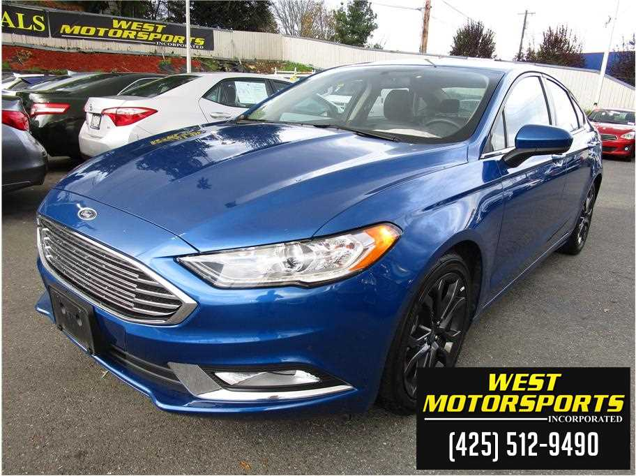 2018 Ford Fusion from West Motorsports Inc.