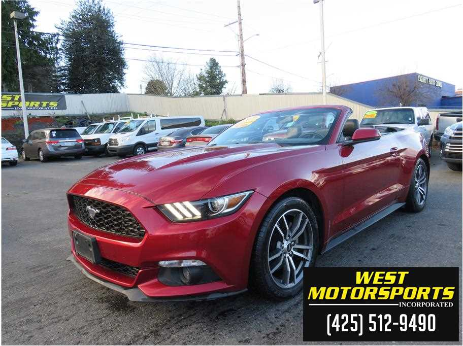 2017 Ford Mustang from West Motorsports Inc.
