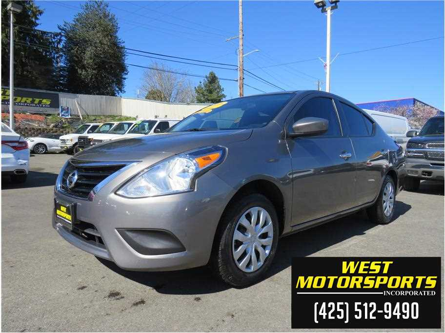 2016 Nissan Versa from West Motorsports Inc.