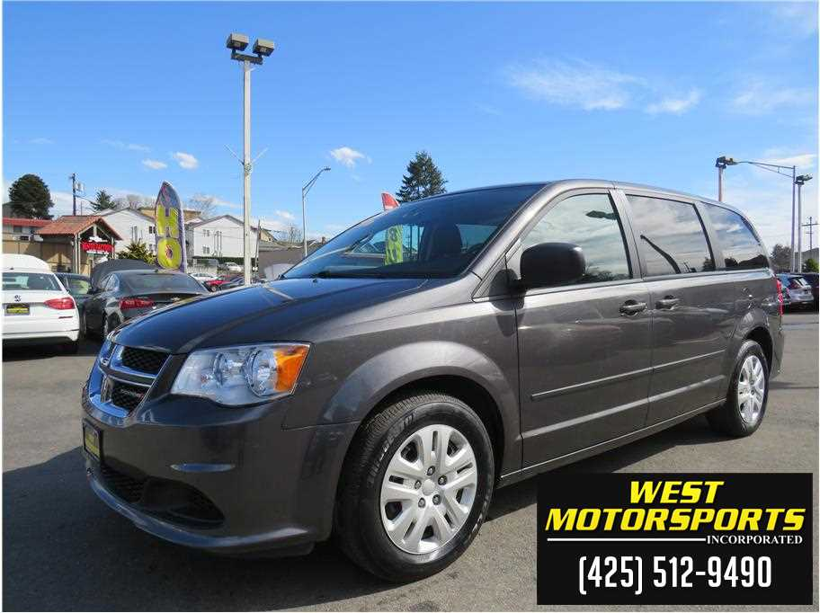 2016 Dodge Grand Caravan Passenger from West Motorsports Inc.