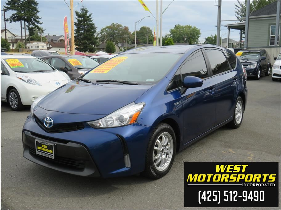 2017 Toyota Prius v from West Motorsports Inc.