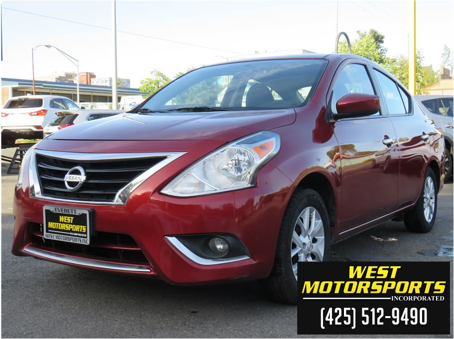 2018 Nissan Versa from West Motorsports Inc.