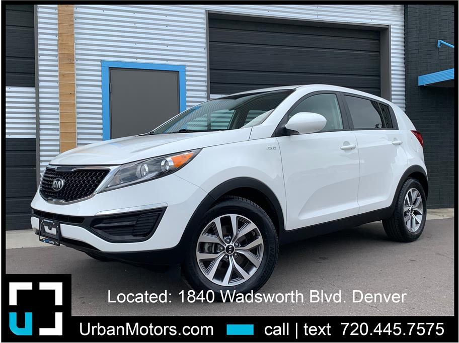 2016 Kia Sportage from Urban Motors