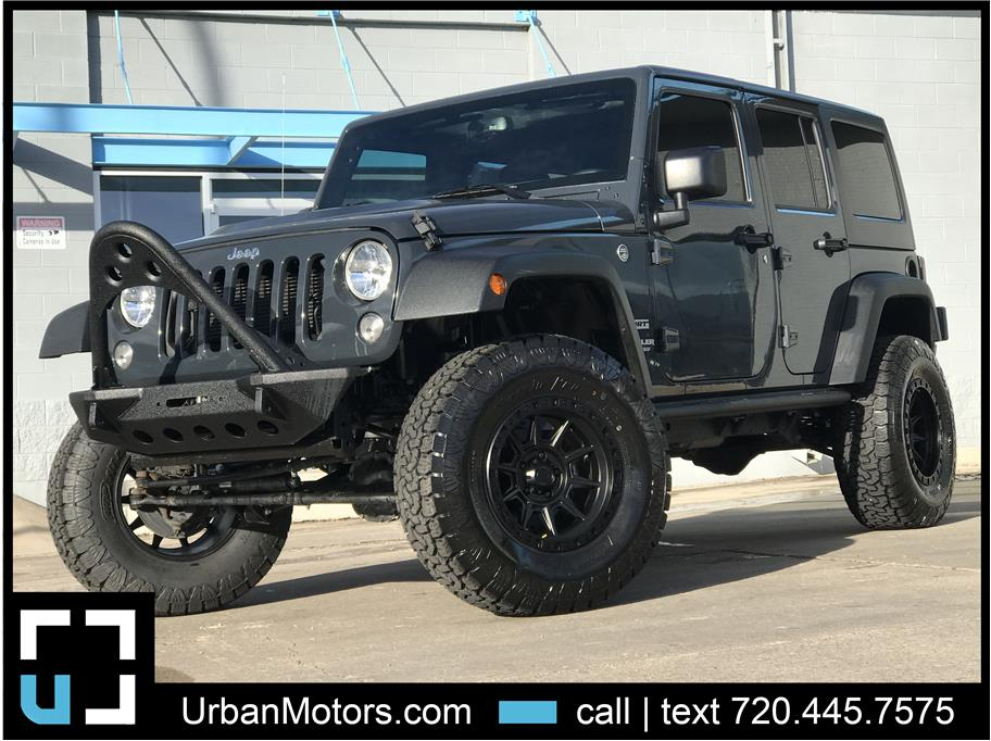 2017 Jeep Wrangler Unlimited from Urban Motors