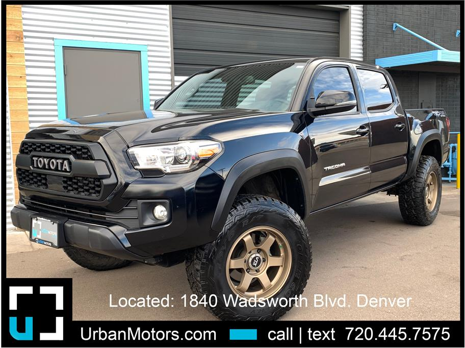 2018 Toyota Tacoma Double Cab from Urban Motors