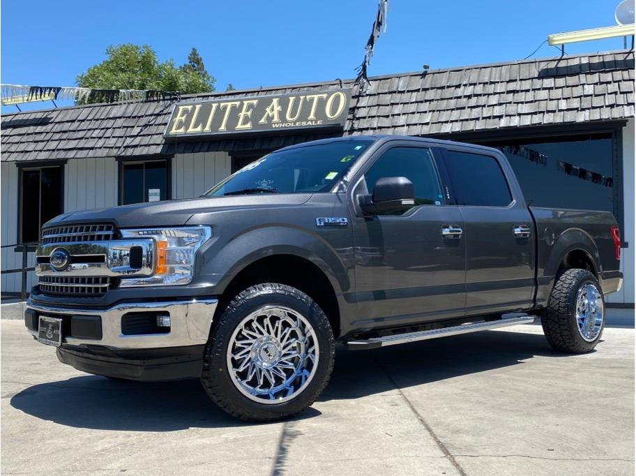 2018 Ford F150 SuperCrew Cab from Elite Auto Wholesale Inc.