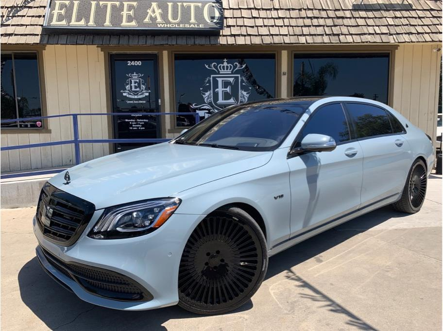2018 Mercedes-benz Mercedes-Maybach S-Class from Elite Auto Wholesale Inc.