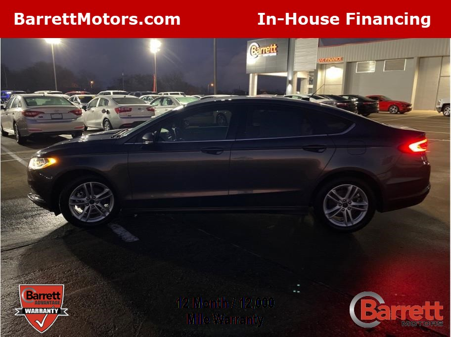 2018 Ford Fusion from Barrett Motors - Greenville
