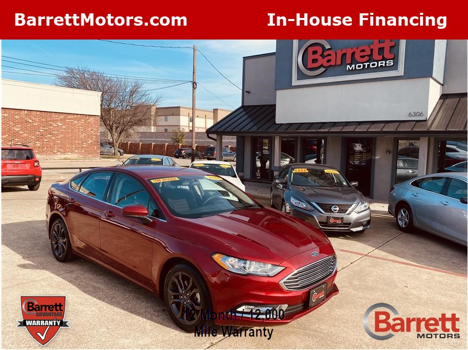 2018 Ford Fusion from Barrett Motors