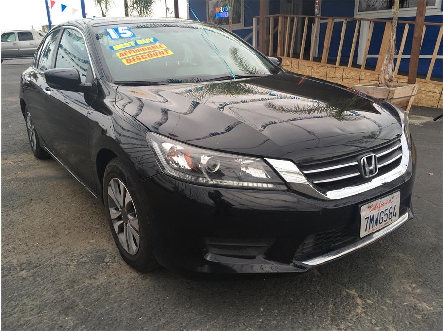 2015 Honda Accord from Los Reyes Auto Sales, Inc.