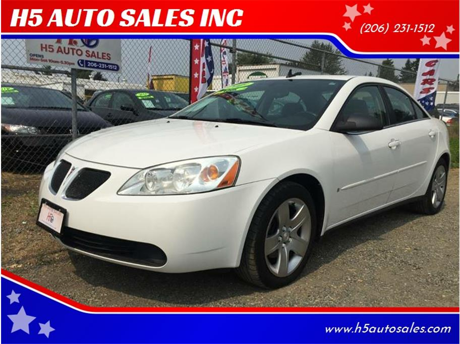 2009 Pontiac G6 from H5 AUTO SALES