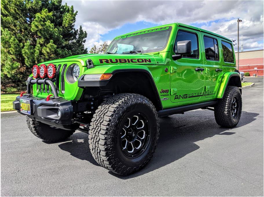 2018 Jeep Wrangler Unlimited from Auto Network Group Northwest Inc.