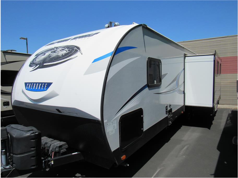 2019 FOREST RIVER Alpha Wolf Cherokee 27RK-L from Auto Network Group Northwest Inc.